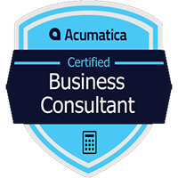 Acumatica Certified Business Consultant