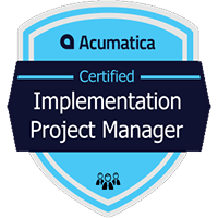 Acumatica Certified Implementation Project Manager